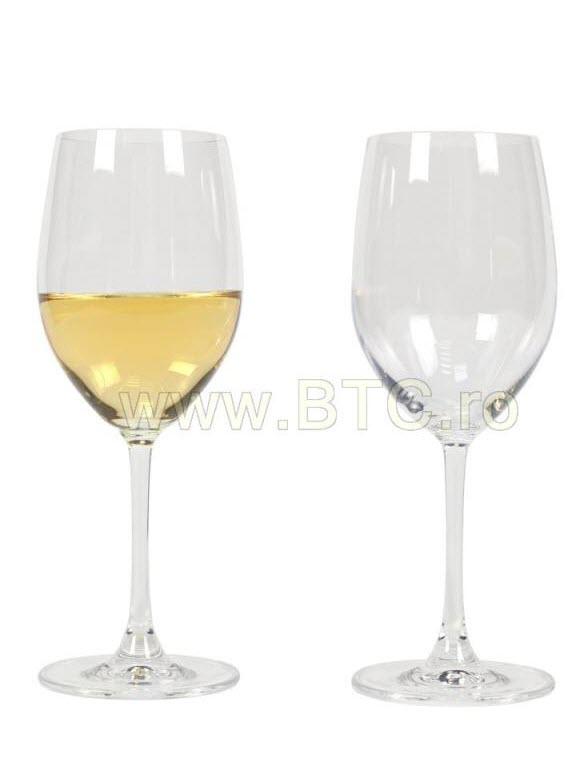 Set pahare vin alb Clarity