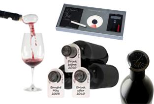 accesorii vin, tirbuson, desfacator, aerator, taietor capison,
