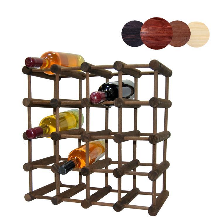 Raft modular lemn baituit 20 sticle