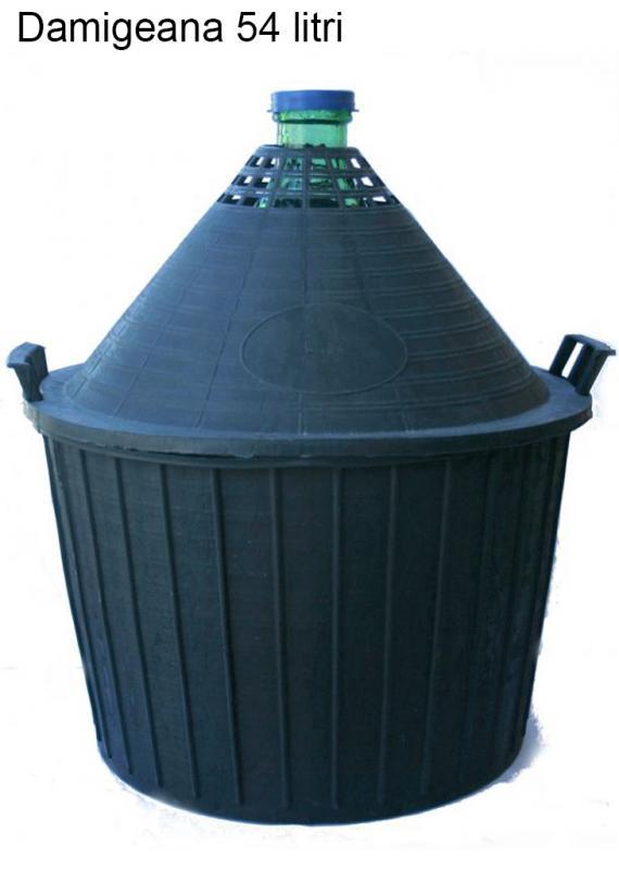 Damigeana 54L ambalaj plastic