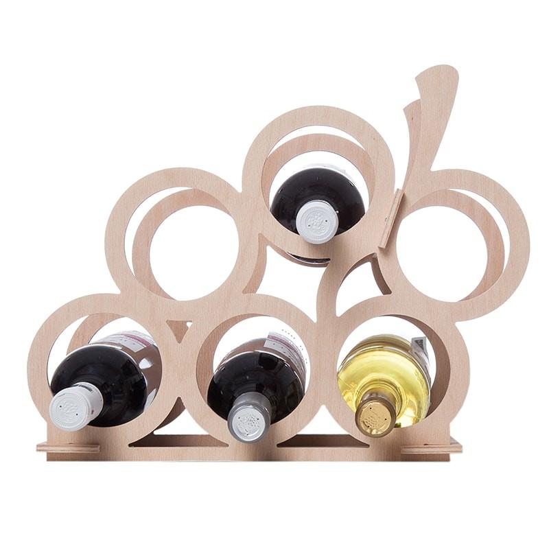 Raft strugure natur 6 sticle vin