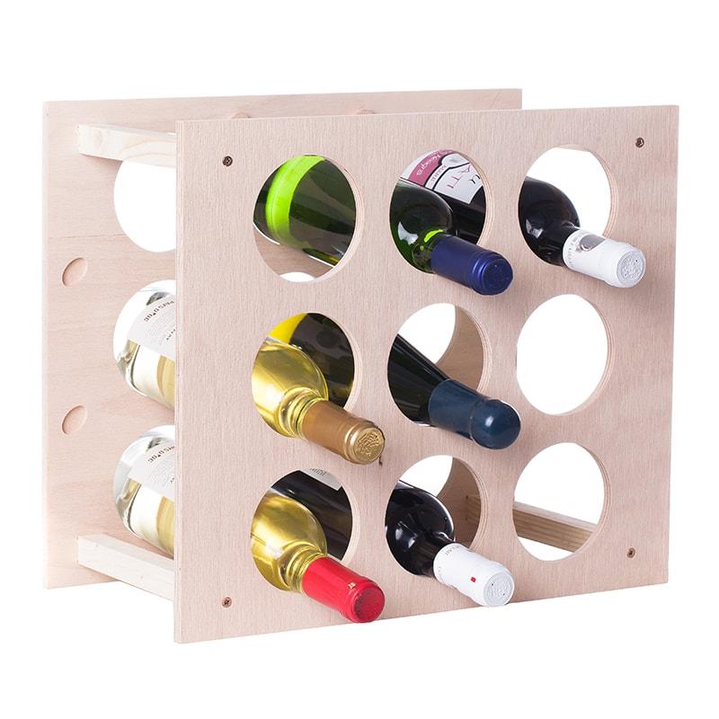 Raft Wine House patrat natur 9 sticle vin