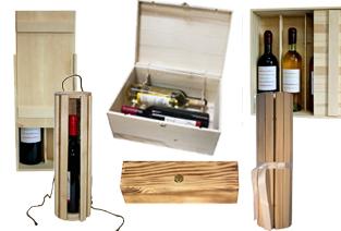 cutie,lemn,sticla vin, cadou, tip corporate