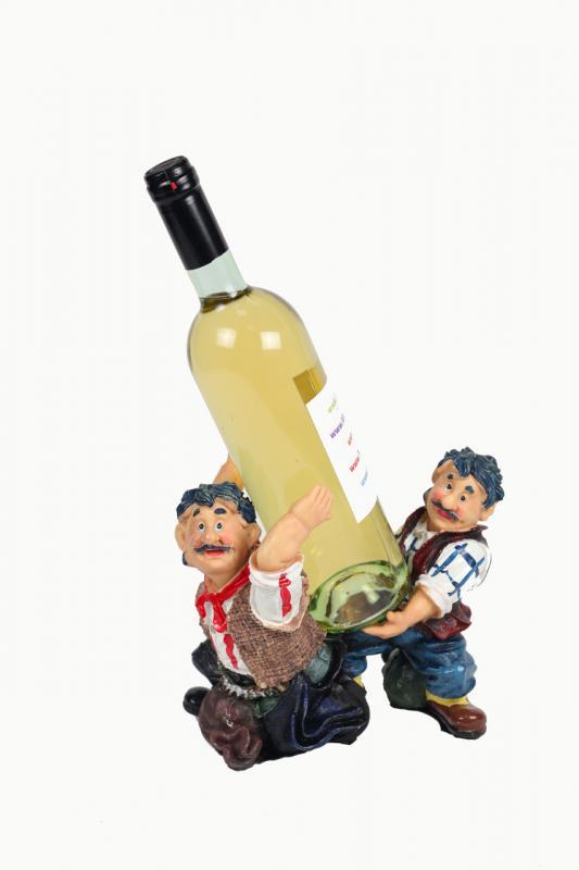 Suport muncitori sticla vin