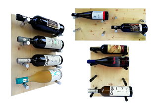 raft vin, WineStick, rafturi aluminiu