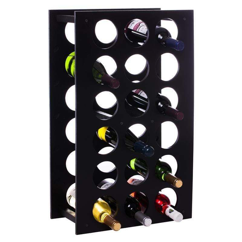 Raft Wine House negru 18 sticle vin