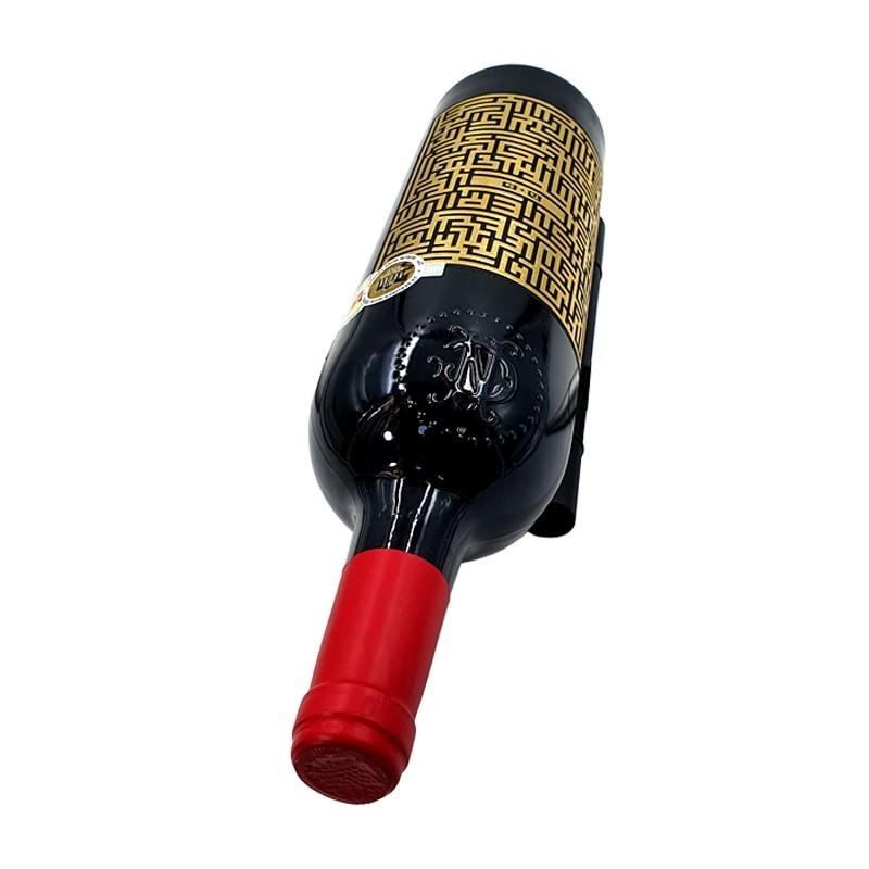 Set suporti negri sticla vin