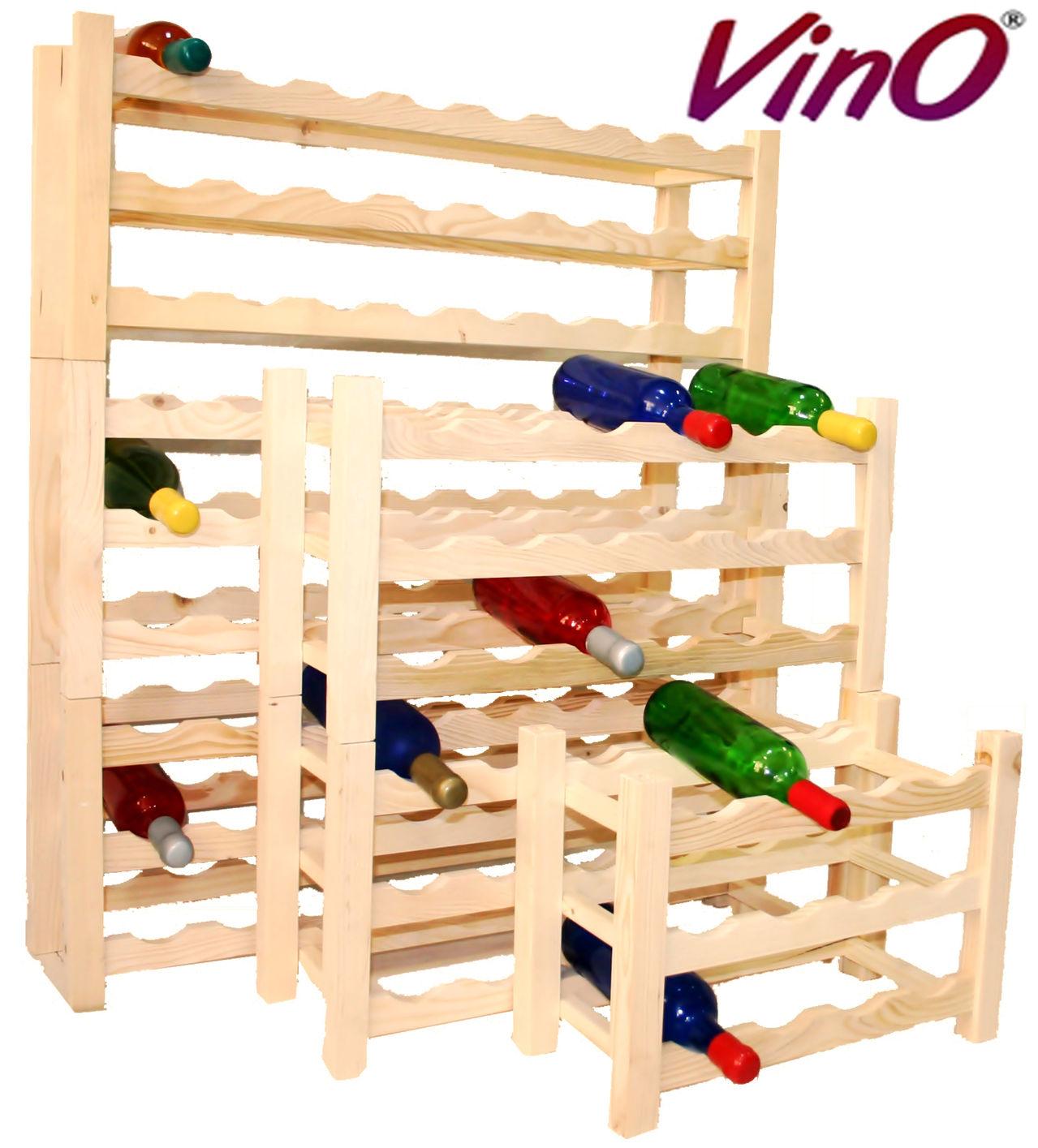 rafturi din lemn pentru vin VinO