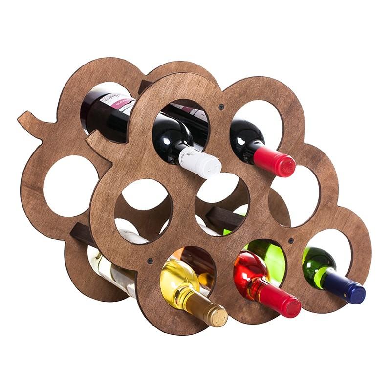 Raft Grappino maro  8 sticle vin