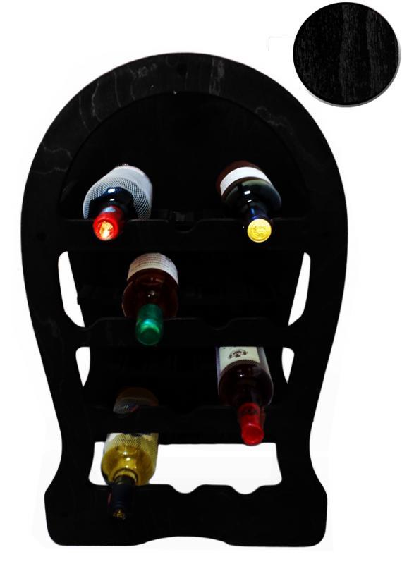 Raft lemn 13 sticle vin