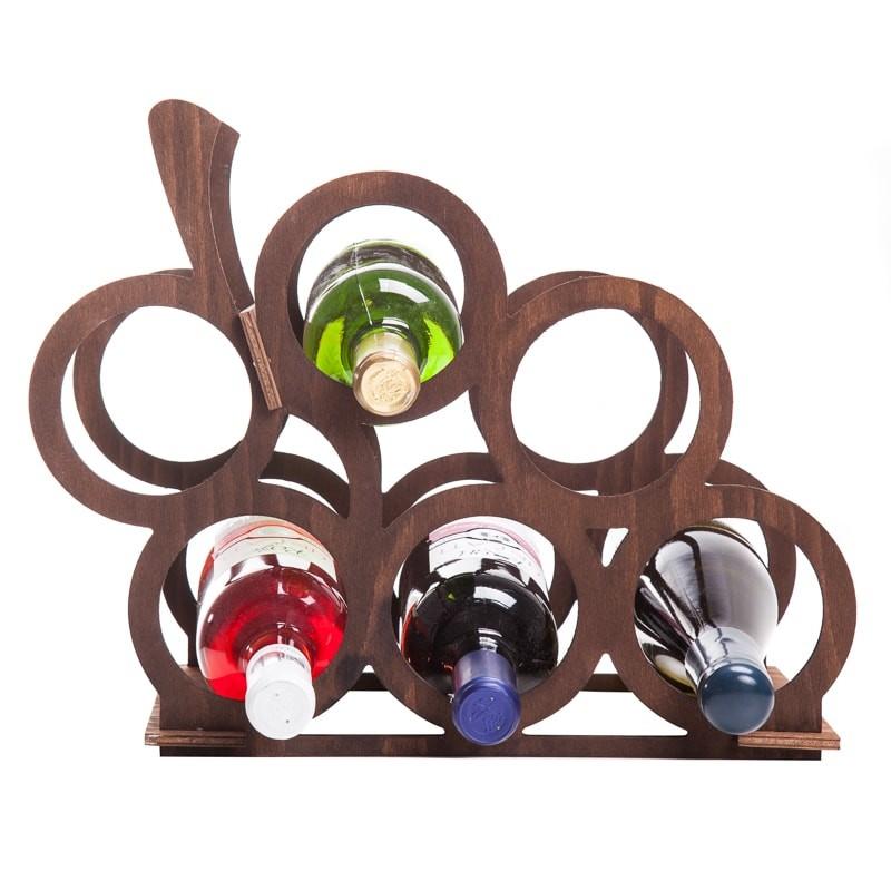 Raft strugure maro 6 sticle vin