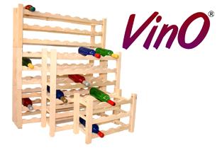 raft ,lemn ,sticle vin, brand VinO, amanajare crama,vinoteca